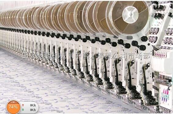TFGN大型刺绣系列_专为家纺特制刺绣机
