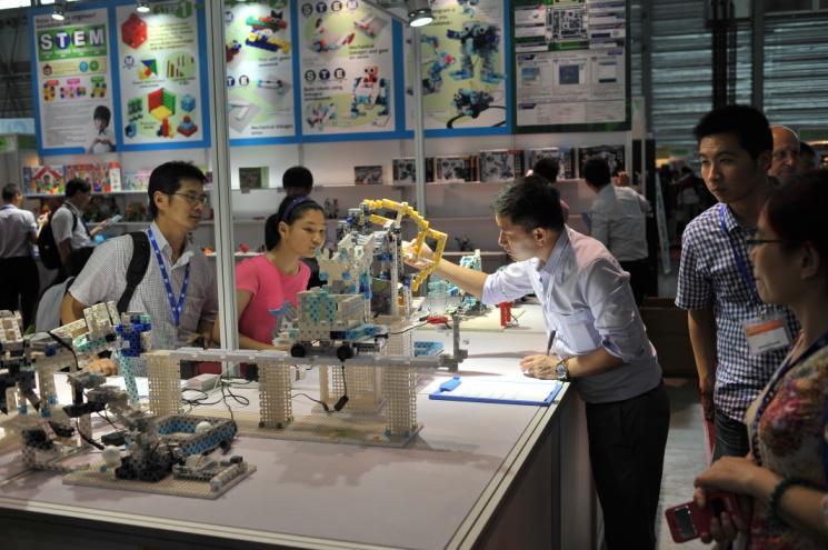 2014中国国际机器人展完美谢幕