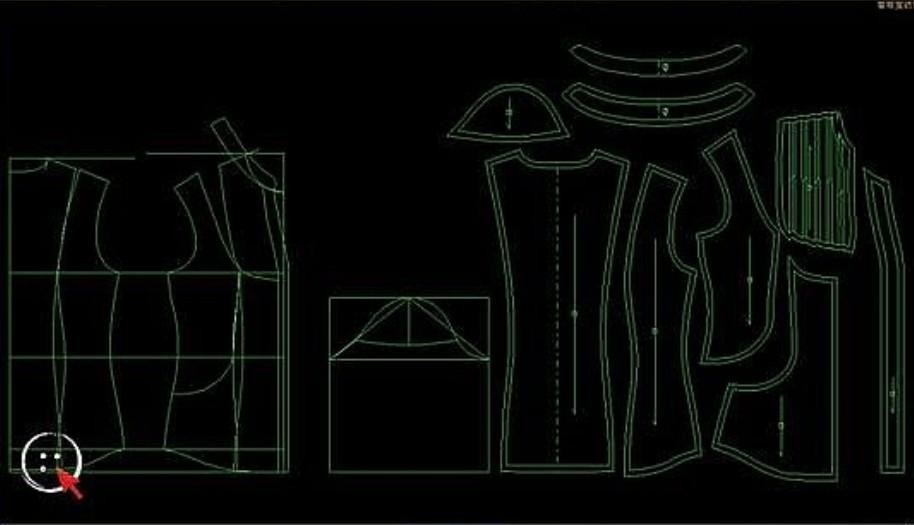 奥科样板CAD切割机服装绘图切割机迅捷CAD学习6图片